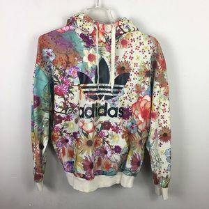 Adidas originals trefoil  confete farm pullover